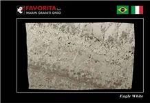 Eagle White Granite Slabs
