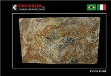 Fenix Gold Granite Slabs