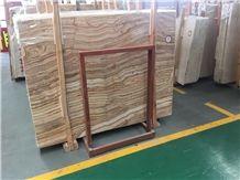Wood Grain Onyx Slab & Tile, Wall & Floor Covering, White Beige Wood Vein Onyx, Brown Rosin Onyx, Gold Wood Grain