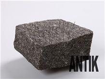 Black Granite Cubestone,Cubes, Cobbles, Pavers, Paving Stone, Gabbro Antik Nero Black Granite Paving Stone