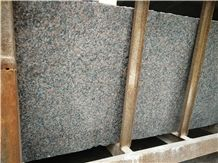 New Mahogany Granite,Polished Small Slab and Tile ,Thickness 1.5cm