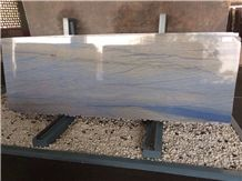 Azul Macaubas Quartzite Slabs and Tiles, Blue Quartzite Slabs,Blue Exotic Stone,Blue Luxury Stone