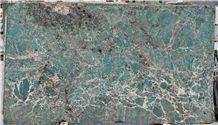 Ocean Ice Blue Quartzite Slabs, Amazon Green Quartzite Slabs, Blue Luxury Stone