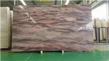 Red Colinas Quartzite Slabs and Tiles, Red Colinar Stone, Bookmatching Stone
