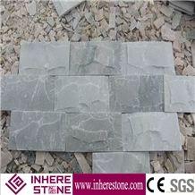 China Slate Mushroom Stone, Cheapest Grey Wall Stones, Grey Mushroom Stone