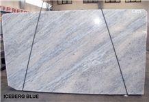 Iceberg Blue Marble Slabs & Tiles
