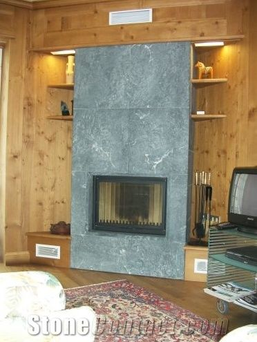 Pietra Ollare Soapstone Fireplace Grey Soapstone Fireplace Surrounds