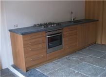 Pietra Ollare soapstone kitchen countertops, grey soapstone vanity tops