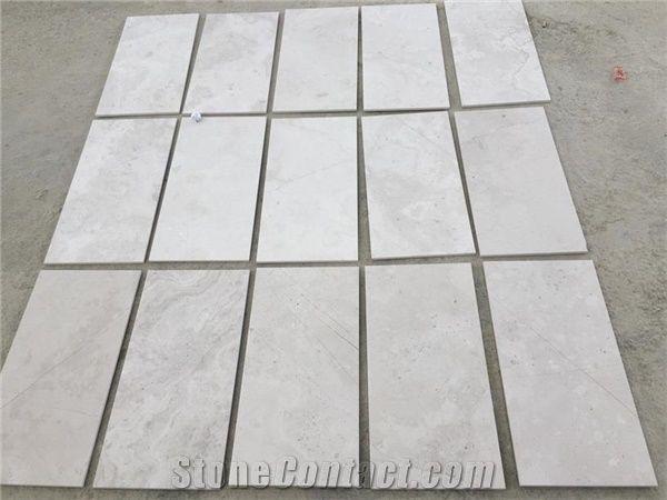Cross Cut Marble Tiles Slabs