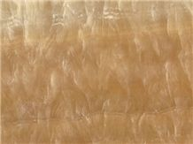 China Honey Yellow Onyx Tiles Polished for Hotel/ Interior Stone Floor Covering