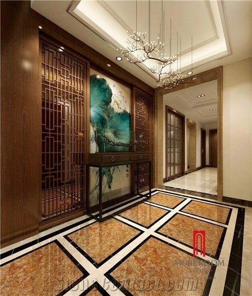 Van Gogh Gold Ceramic Tile Cheap Porcelain Floor Tiles Foshan