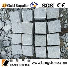 Dark Grey Granite Paving Cube Stone G654