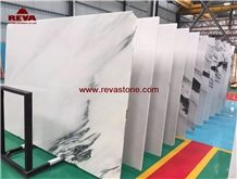 Blue Sky White Jade Marble Slab Polished ,Elegant White Marble Slab for Wall Floor , White Jade Marble Wall Covering