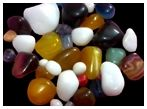 Onyx Pebble 12, Multicolor Stone Pebble & Gravels