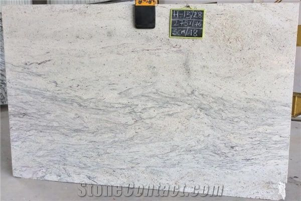 River White Granite Tiles Slabs White Polished Granite Flooring