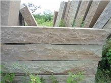 Sandstone Camel Dust Block Steps, Brown Sandstone Kerbstone, Kerb Stone