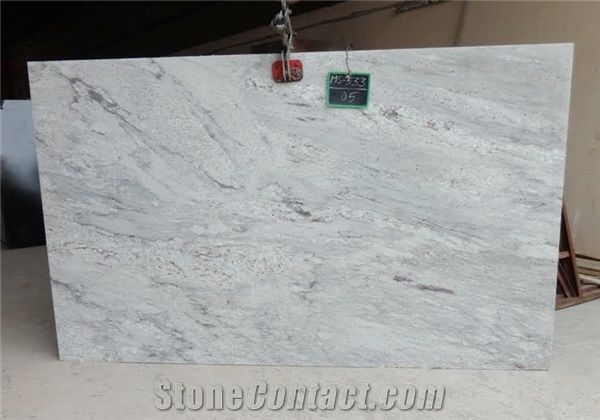 Thunder White Granite Tiles Slabs White Polished Granite Flooring