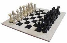 Black & Botichinno Marble Chess Set