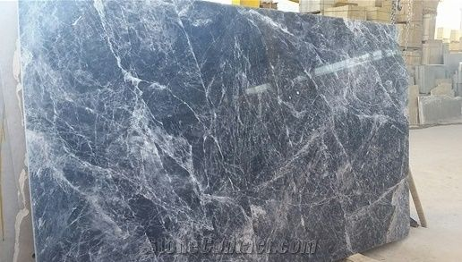 Blue Storm Marble Marmol Blue Storm Slabs Grey Polished Marble