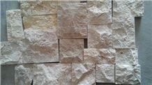 Cheapper Chinese Yellow Limestone Mushroom Stone, Sun Yellow Limestone Mushroom Wall Cladding