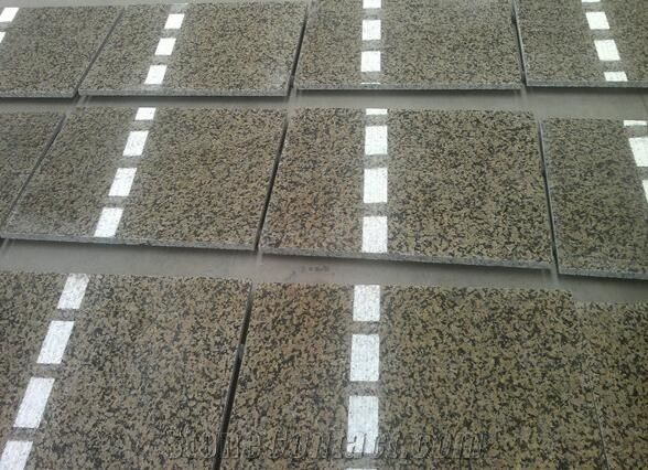 Desert Gold Granite Tile 12x12 Suppliers