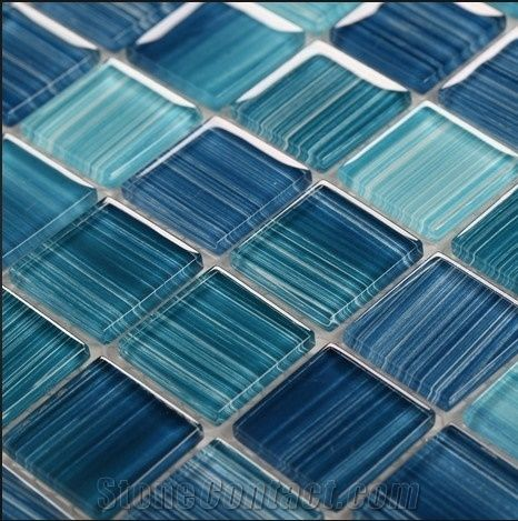 Selling Well Glass Mosaic for Swimming Pool Tiles from China ...