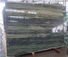 Verde Bamboo Quartzite Slabs & Tiles, Brazil Green Quartzite