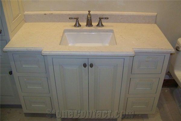 Crema marfil beige marble bath tops crema marfil beige - Best paint color for crema marfil bathroom ...