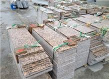 Yuzhno Sultayevskiy Granite Tiles & Slabs, Red Polished Granite Floor Tiles, Flooring