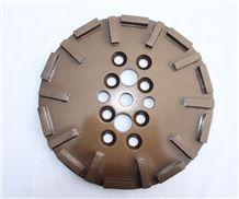 250mm Diamond Concrete Grinding & Polishing Abrasive Tool