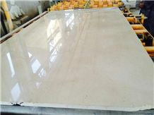 Galala Cremy Marble Tiles & Slabs, Beige Polished Marble Flooring Tiles, Walling Tiles