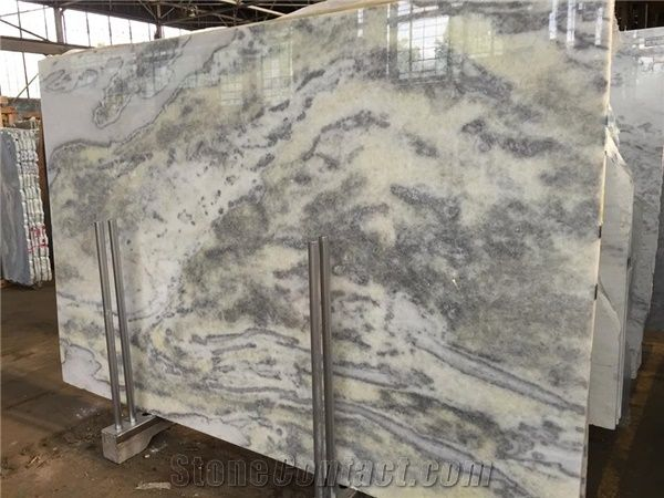 Crystal Ice Quartzite Slabs From United States