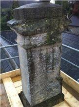 Doulting Stone Chimney Restoration