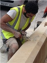 Doulting Stone Limestone Masonry, Beige Limestone Building Stone & Walling