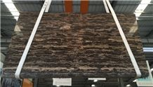 Golden Coast Marble Slabs & Tiles, China Brown Marble