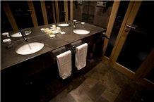 Europe Grey Marble Bathroom Top, Flooring and Wall Tiles