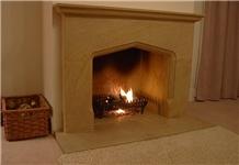 Ham Stone Traditional Style Fireplace