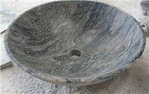 Cheapest Juparana Colombo Round Basin,Juparana Colombo Granite Round Sink,Juparana Colombo Round Basin for Bathroom & Kitchen,Multicolor Round Basin Factory