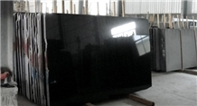 Polished Shanxi Black Granite Tiles Slabs