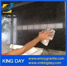 South Africa Black Granite, Impala Black Granite Slabs,