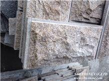 G682 Granite Mushroom Stone, China Yellow Granite Mushroomed Cladding