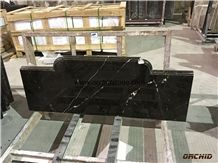 Chinese Brown Portor Gold Marble Counter