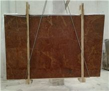 Rosso Cardinale Limestone Tiles & Slabs, Red Polished Limestone Flooring Tiles, Wall Tiles