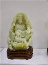 Green Onyx Handicraft Carving,Green Onyx Carved Gifts