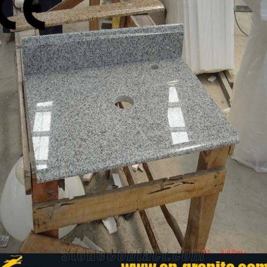 Granite Bathroom Vanity Tops g603 granite vanity tops,wash basin with granite top,grey granite