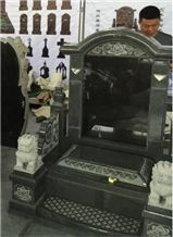 Custom Design Asian Style G654 Tombstone & Monument