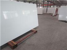 30mm Super White Polished Quartz Slab Engineered Stone