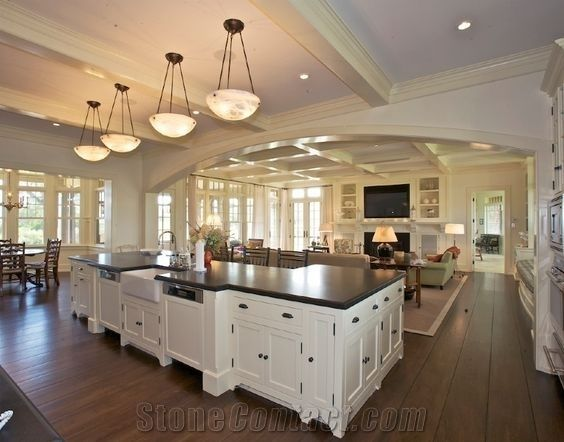 Quartz Stone Pre-Fabricated Tops Customized Kitchen Countertop Shapes with Various Edge Profiles & Quartz Stone Pre-Fabricated Tops Customized Kitchen Countertop ...