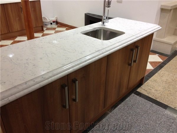 Wholesaler Of Cararra White Quartz Stone Kitchen Countertop,Qualified For  European Standards,More Durable Than Granite,Thickness 2/3cm With The  Perfect ...