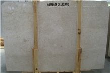 Aegean Delicato Marble Tiles & Slabs, Beige Polished Marble Floor Tiles, Wall Covering Tiles